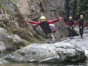 tuffo canyoning