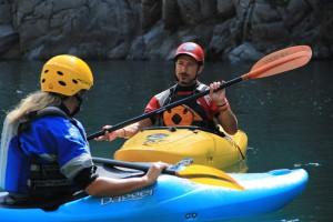 Lezione individuale di Kayak con Eddyline
